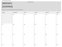 Kalendar domaćih zadaća