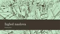 Pozadina poslovne prezentacije sa skicom grada za Office (široki zaslon)