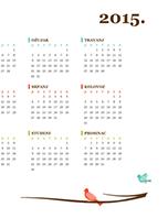 Kalendar za 2016.