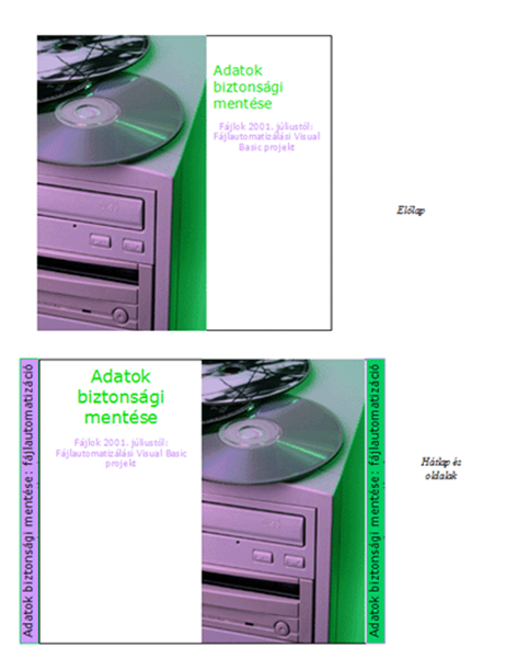 CD-borítók adatlemezekhez