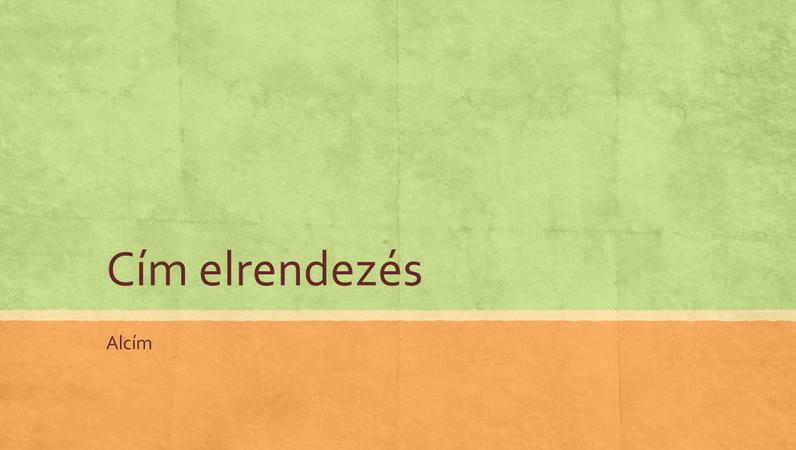 Földszínek bemutató (szélesvásznú)