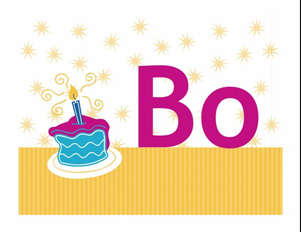 Boldog születésnapot transzparens