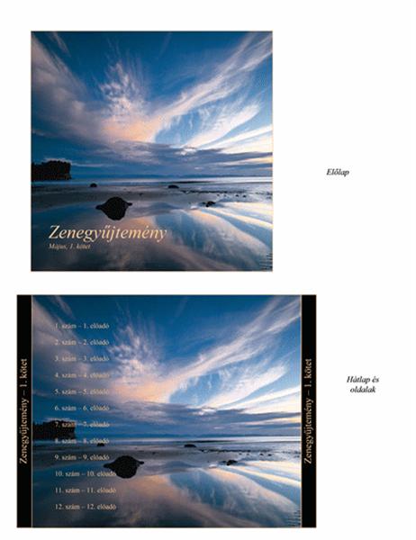 CD-borító zenegyűjteményhez
