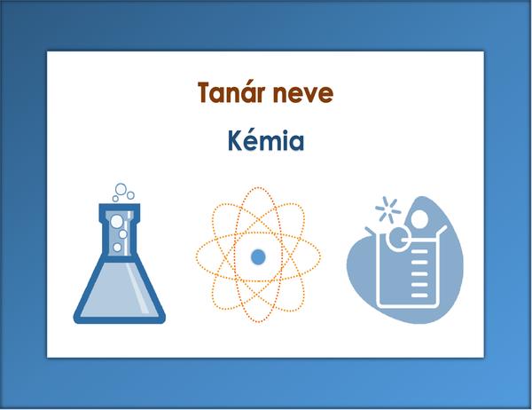 Tantárgy jele (kémia)