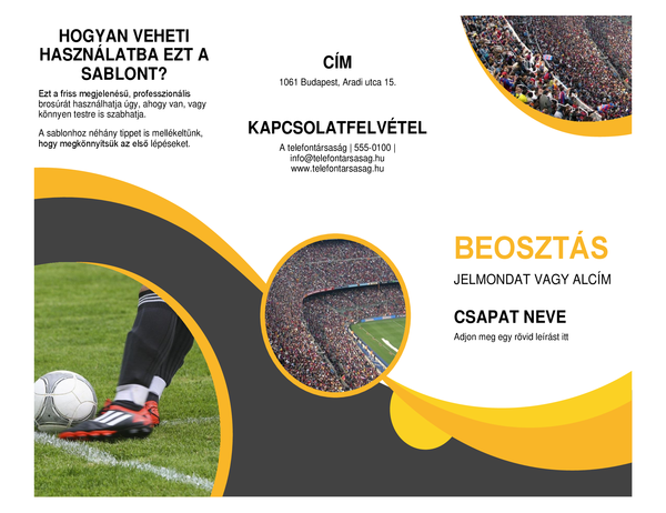 Sport brosúra