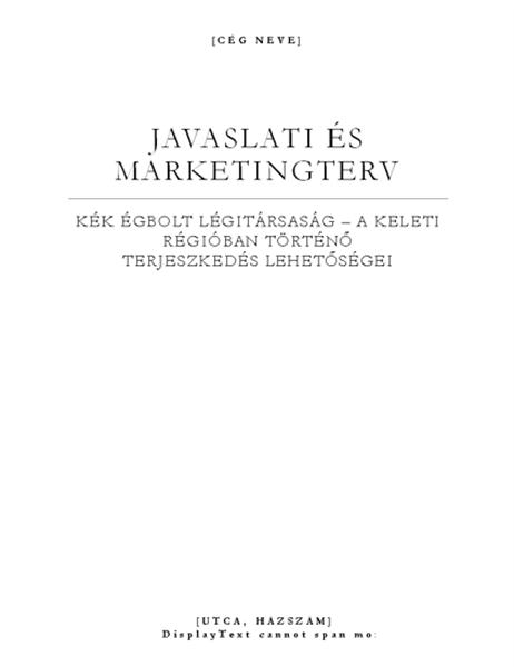 Üzleti jelentés (Elegáns téma)