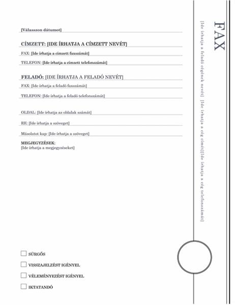 Fax (Loggia téma)