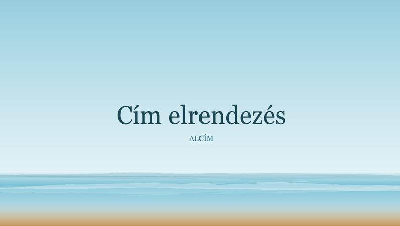 Óceánfestmény bemutató (szélesvásznú)