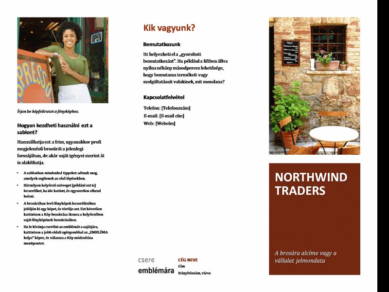 Kisvállalati brosúra