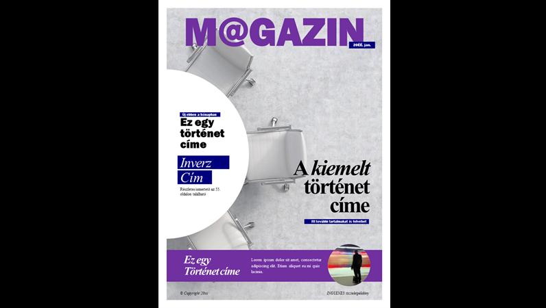 Közösségi folyóirat-borítók