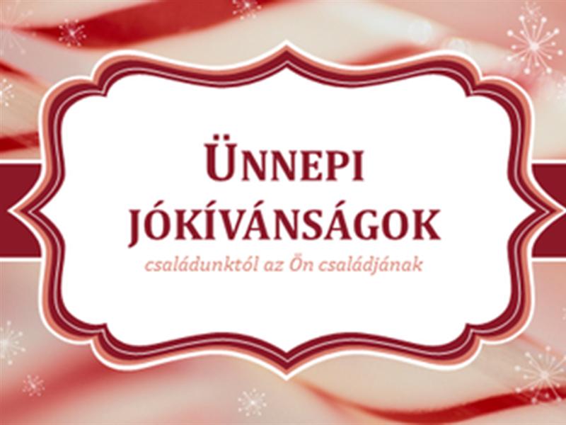 Nyalókás karácsonyi üdvözlőlapok (oldalanként 2 db)