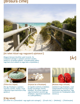 Utazási brosúra