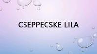 Cseppecske lila