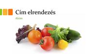 Friss ételeket ábrázoló bemutató (szélesvásznú)