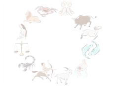 Asztrológia tervezősablon