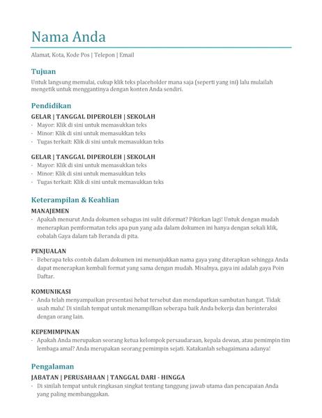 Resume (warna)