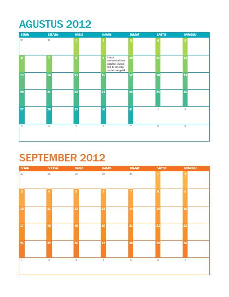 Kalender akademik (S-M)