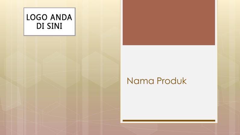 Presentasi gambaran umum produk bisnis