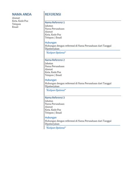 Referensi resume