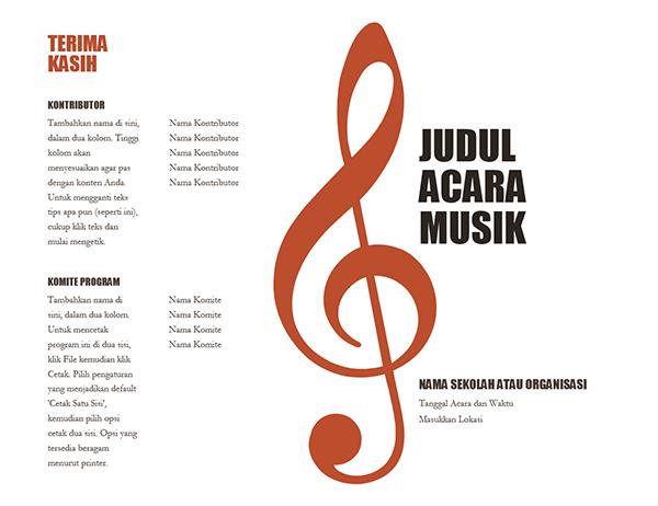 Program musik