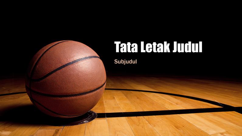 Presentasi basket (layar lebar)