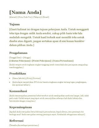 Resume (hijau)