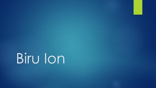Biru Ion