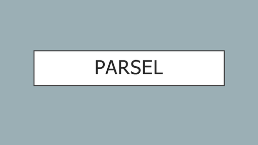 Parsel