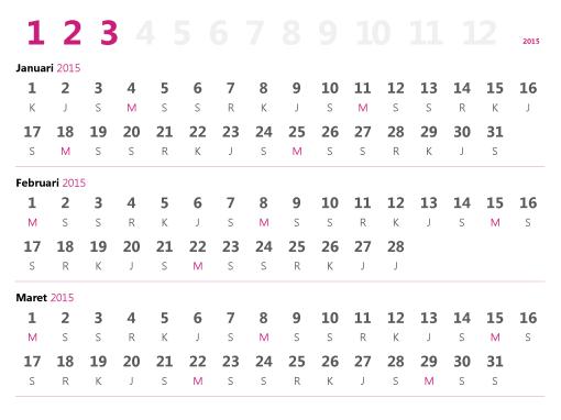 Kalender kuartal 2015