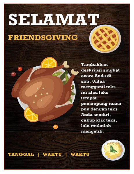 Selebaran Friendsgiving