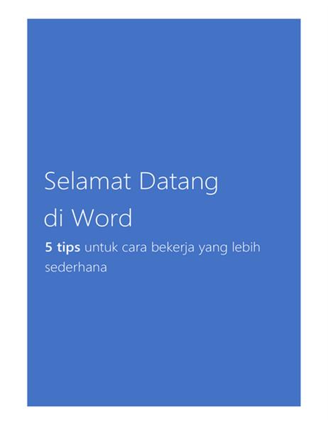 Selamat datang di Word