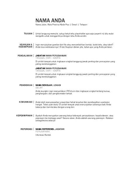 Resume dasar