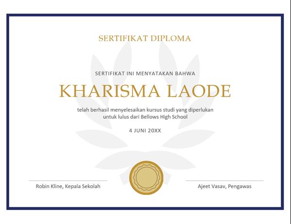 Sertifikat diploma