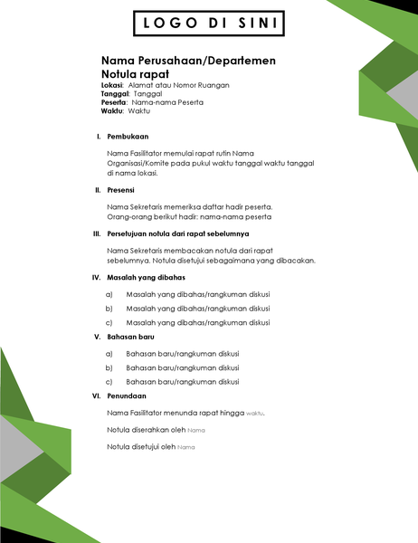 Agenda segitiga