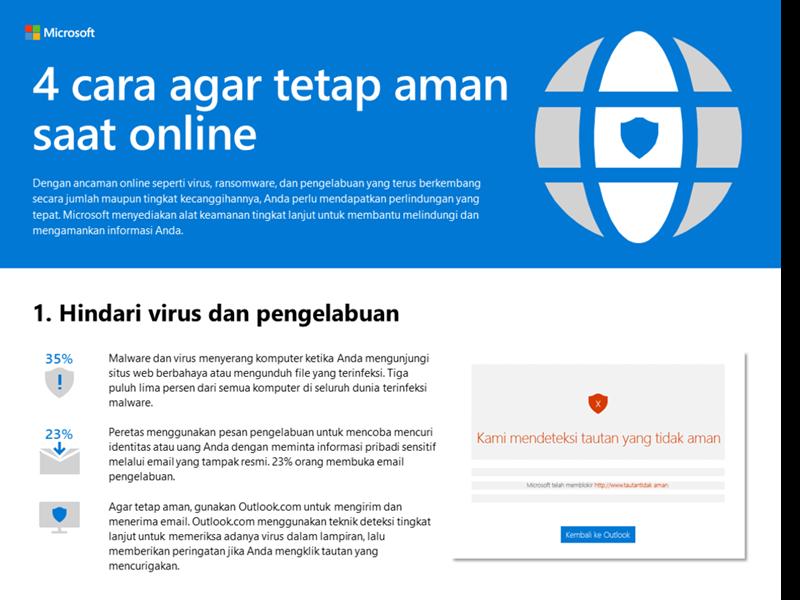 4 cara untuk tetap aman saat online