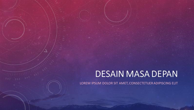 Desain Astronomi Modern