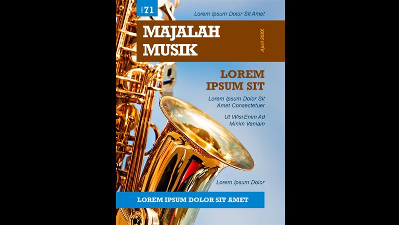 Sampul majalah musik