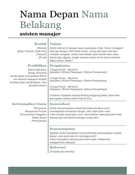 Resume modern dasar