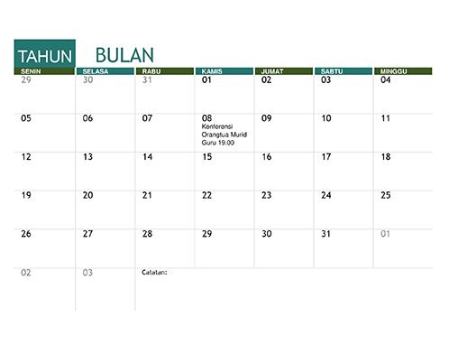Kalender akademis