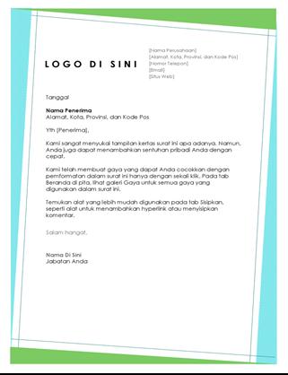 Kop surat geometris