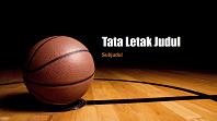 Bola basket presentasi (layar lebar)