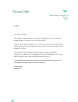 Kop surat pribadi