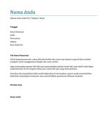 Surat lamaran kerja (biru)