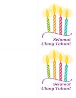 Kartu ulang tahun