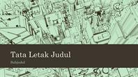 Latar belakang presentasi sketsa kota kantor bisnis (layar lebar)