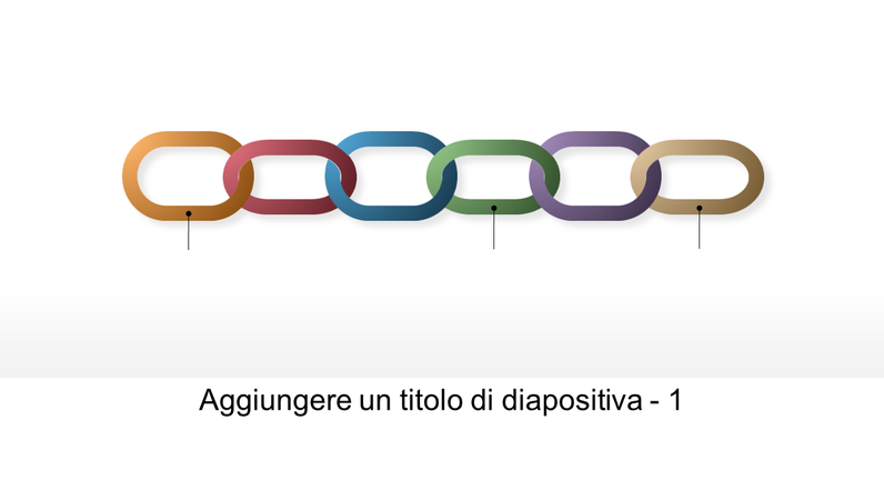 Elementi grafici a catena collegati