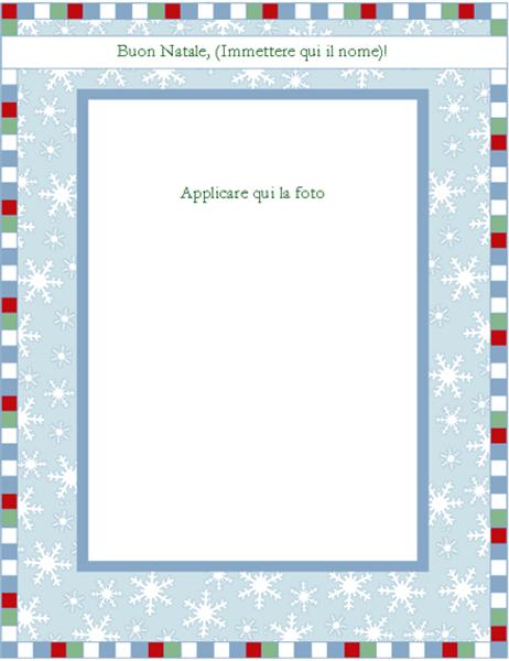 Carta per stampa termica di motivi natalizi su magliette (con fiocchi di neve, compatibile con Avery 3271, 3275 e 3279)