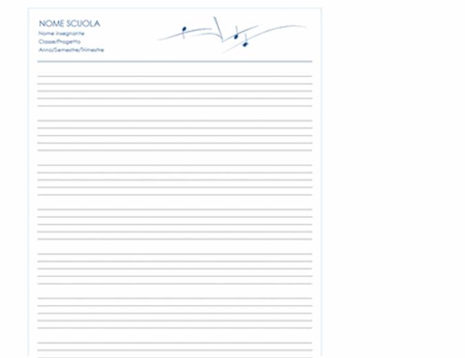 Carta personale generica (verticale, 8 pagine)