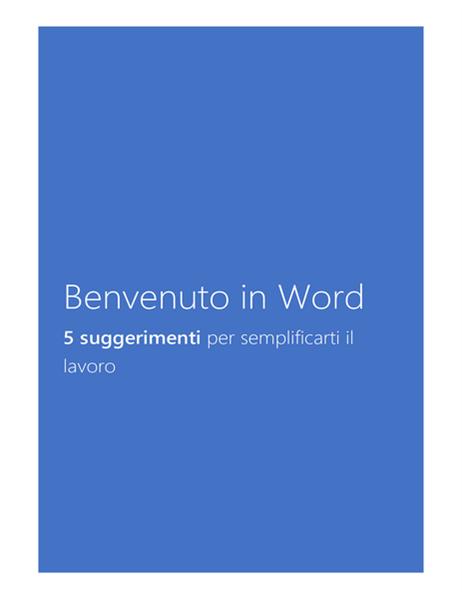 Introduzione a Word 2013