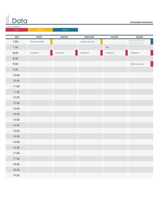 Calendario Prenotazioni Hotel Excel.Excel